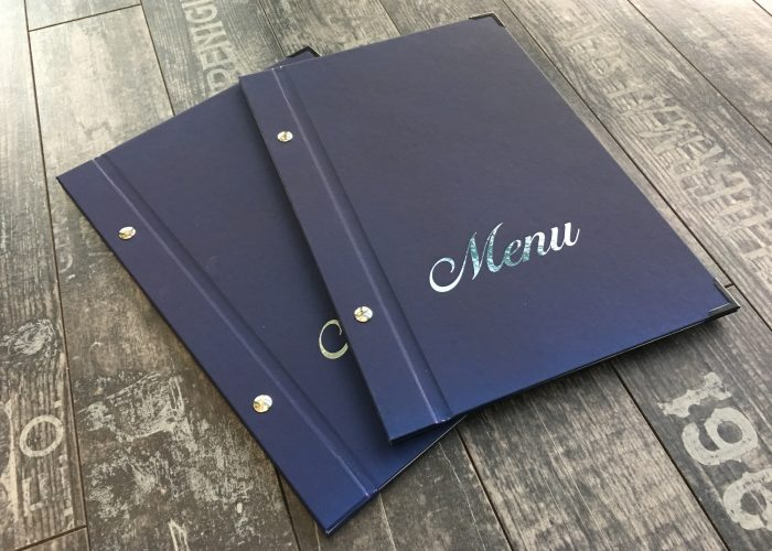 menukort omslag onprint holbæk