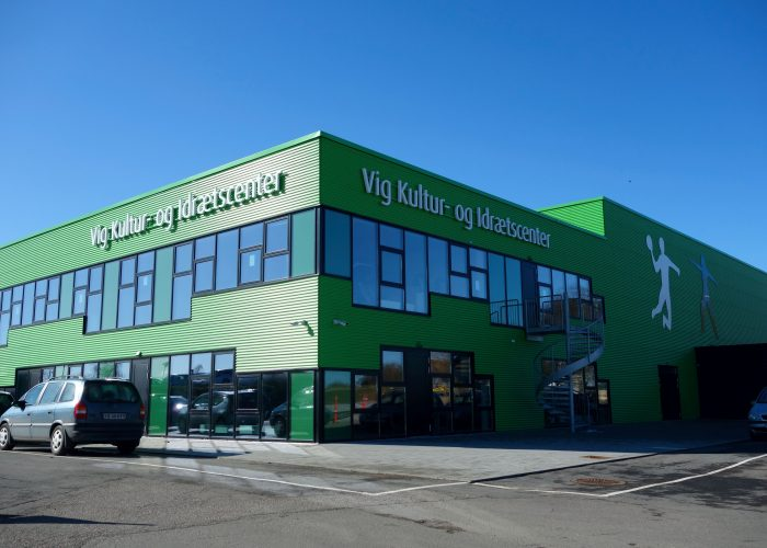 Vig Kultur- og Idrætscenter onprint