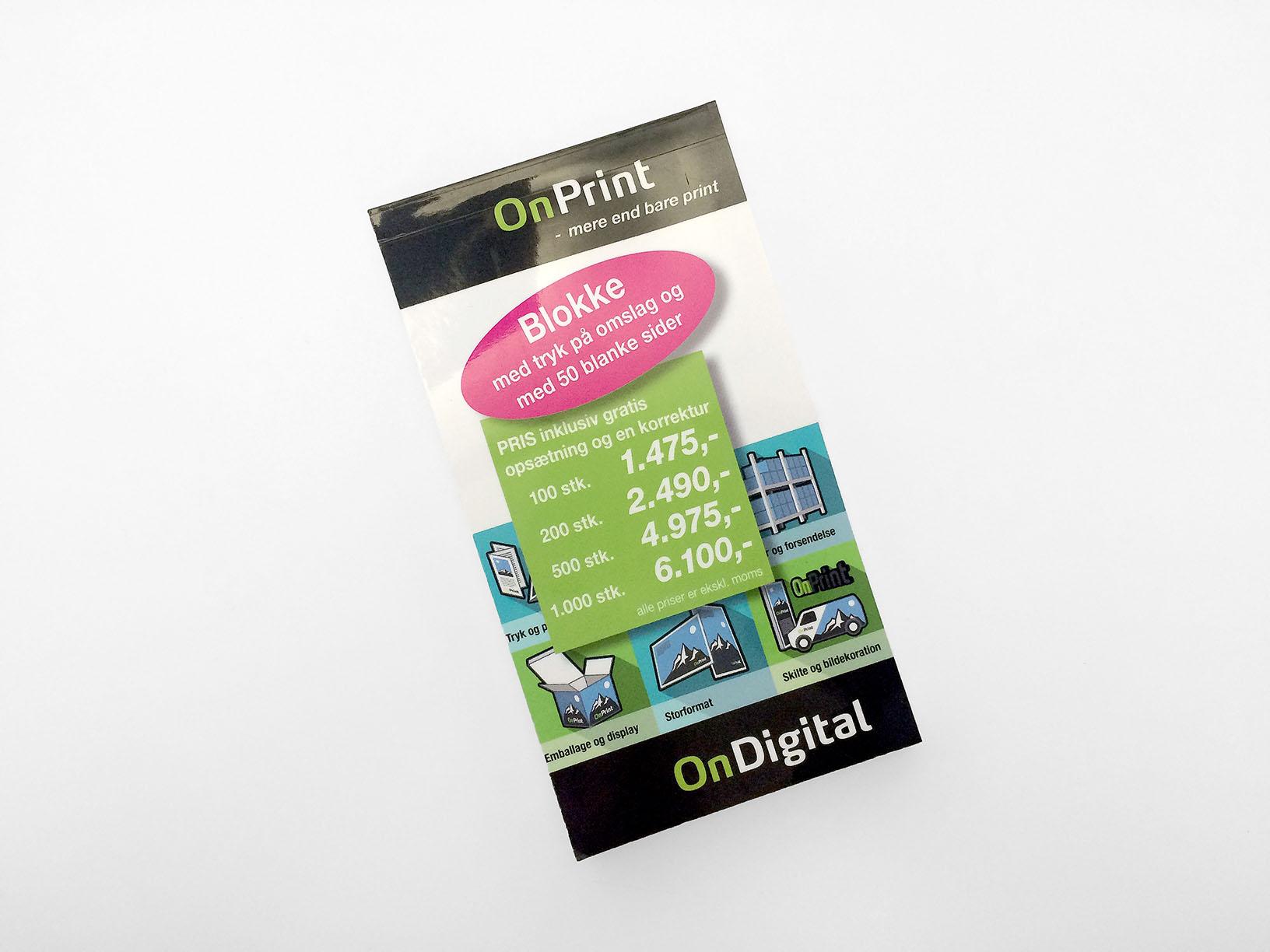 blokke onprint markedsføring