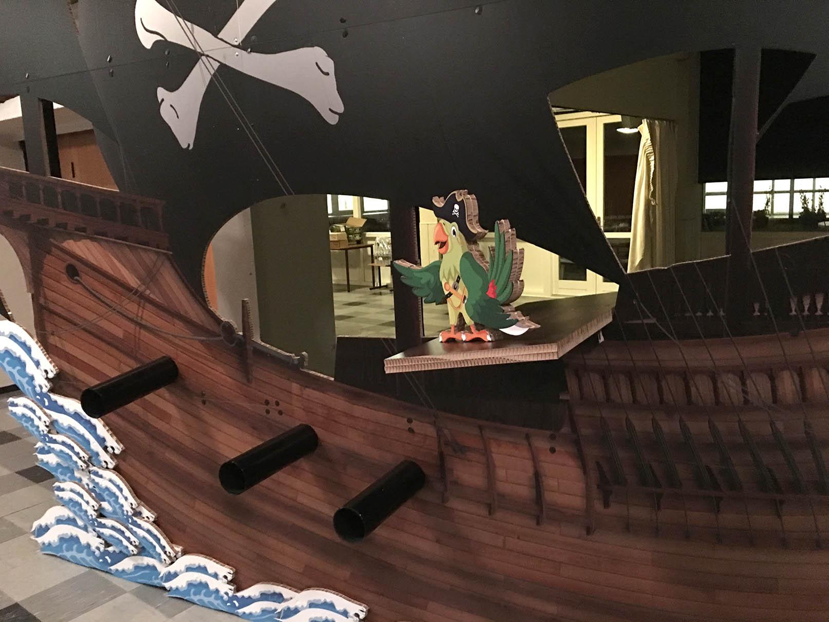 Re-board materiale piratskib auktion og fest